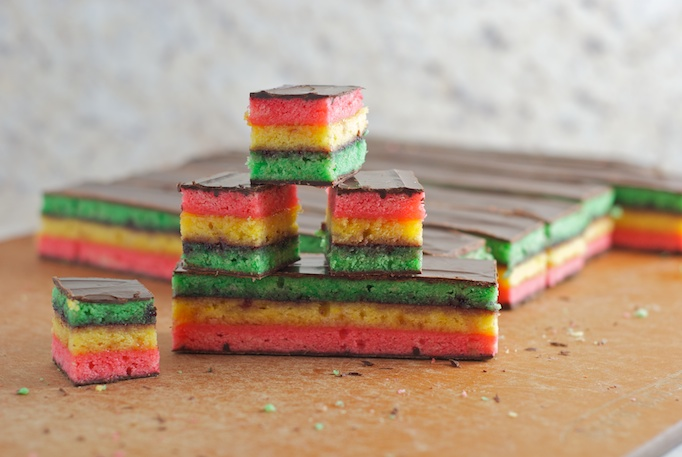 Seven Layer Cookies