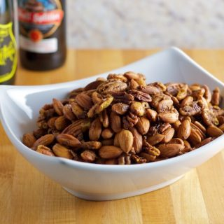 Spicy Sweet Pecans