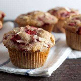 Strawberry Almond Muffins 4