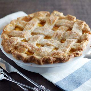 Classic Peach Pie 8