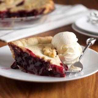 Concord Grape Pie 6
