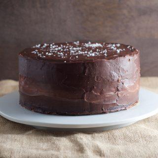 Salted Caramel Ding Dong Cake  6