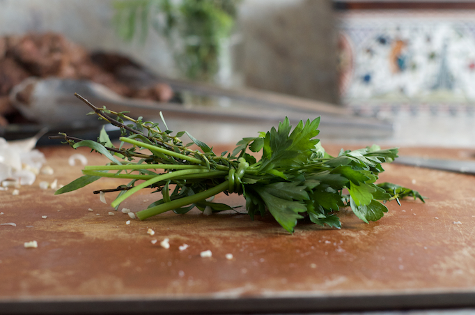 Parsley, Thyme, and Tarragon