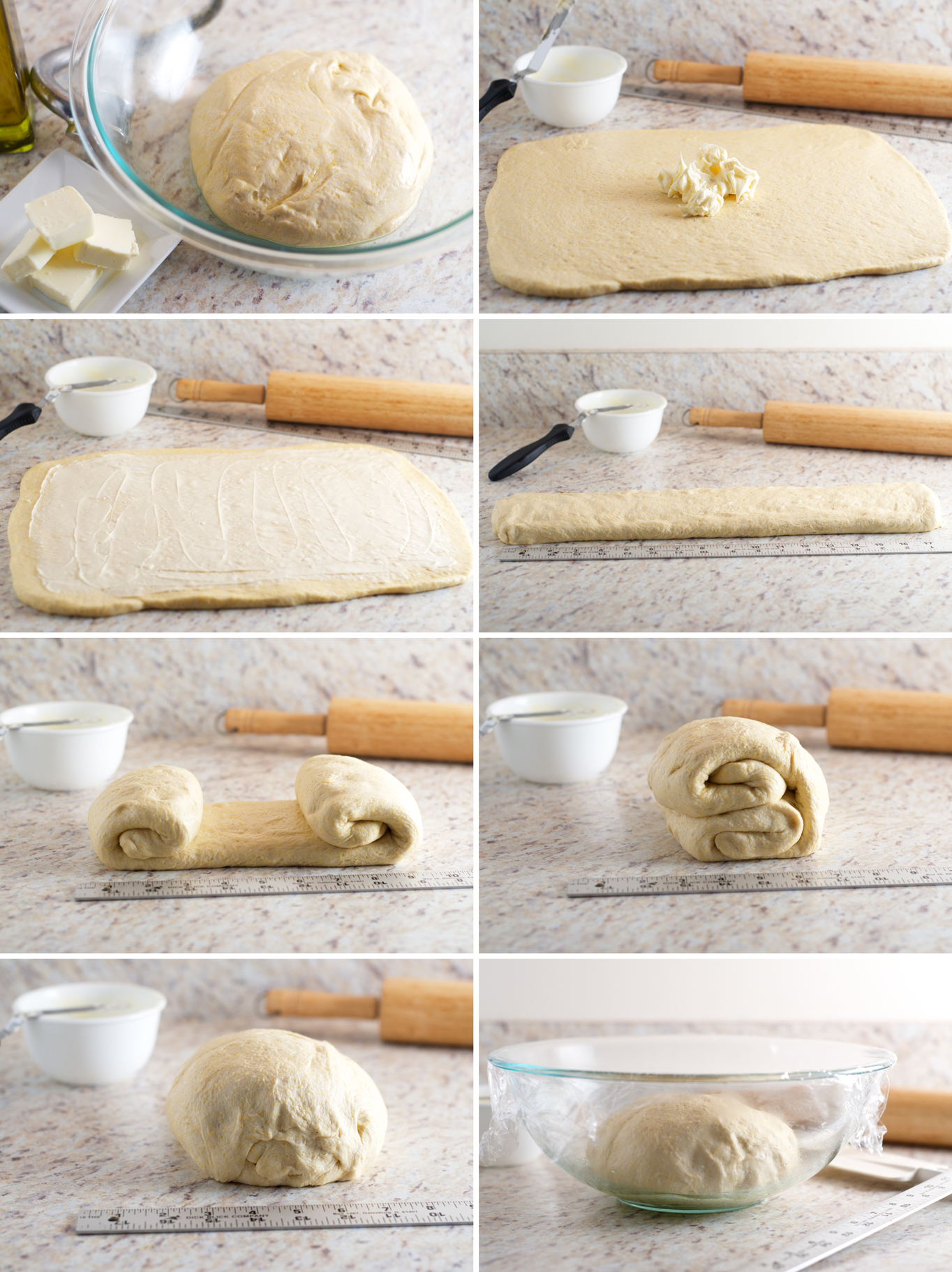 Deep-Dish Dough Steps
