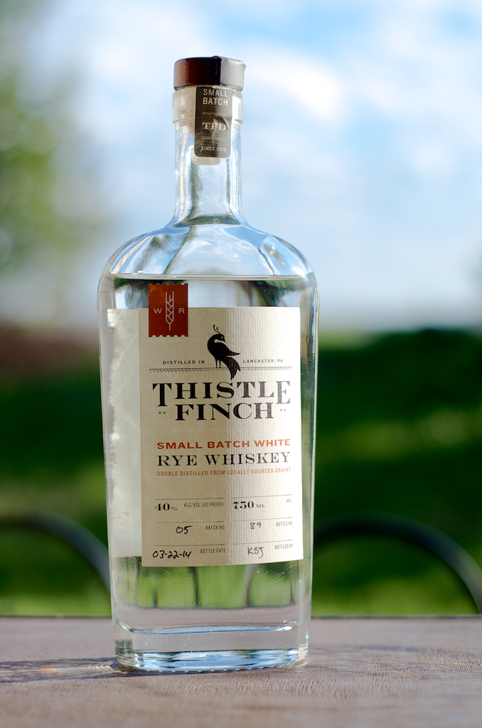 White Rye Whiskey - Thistle Finch Distillery