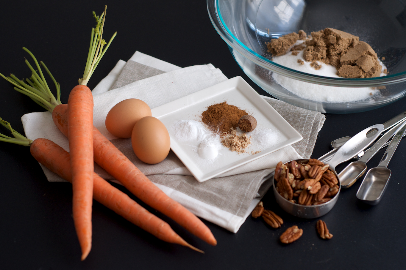 Carrot Cake Cupcake Ingredients