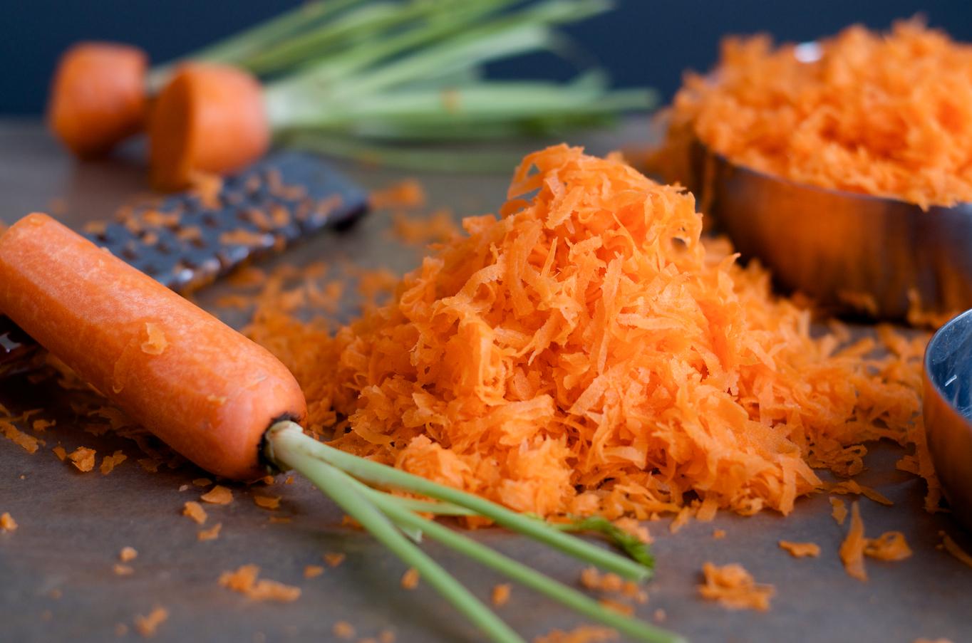Finley Shredded Carrots - Carrot Cake Cupcakes