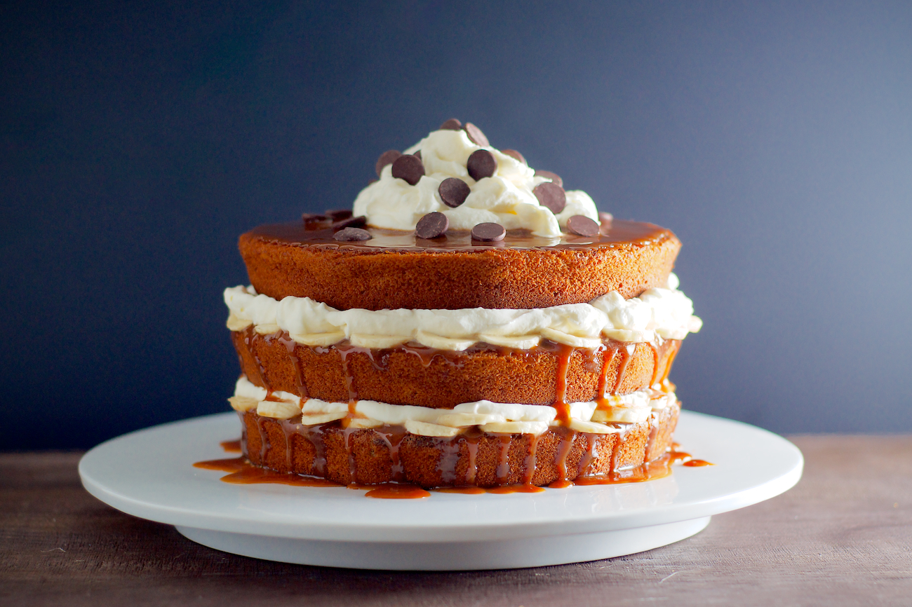 Banana-Chocolate Chip Layer Cake