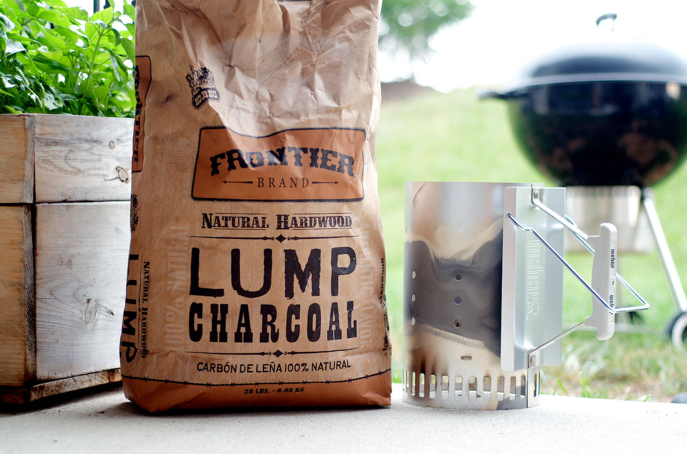All-Natural Lump Charcoal