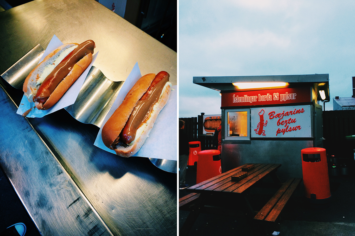 Baejarins Bezt Pylsur - the best hot dogs in town, Reykjavik