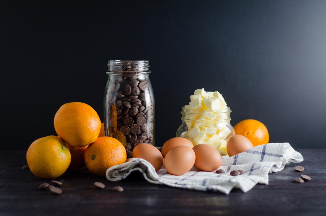 Orange Chocolate Chunk Cake