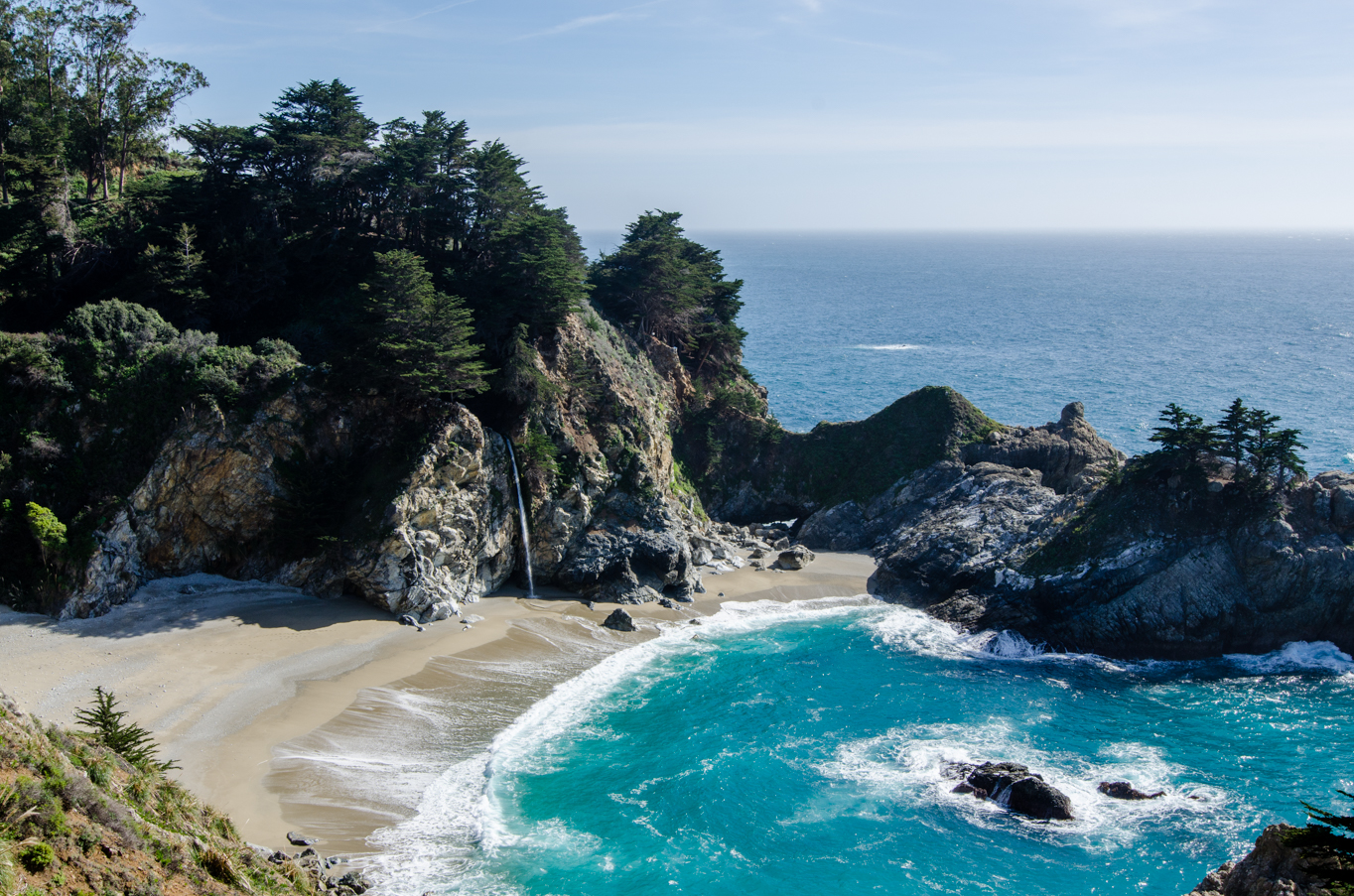 Pacific Coat Highway - McWay Falls