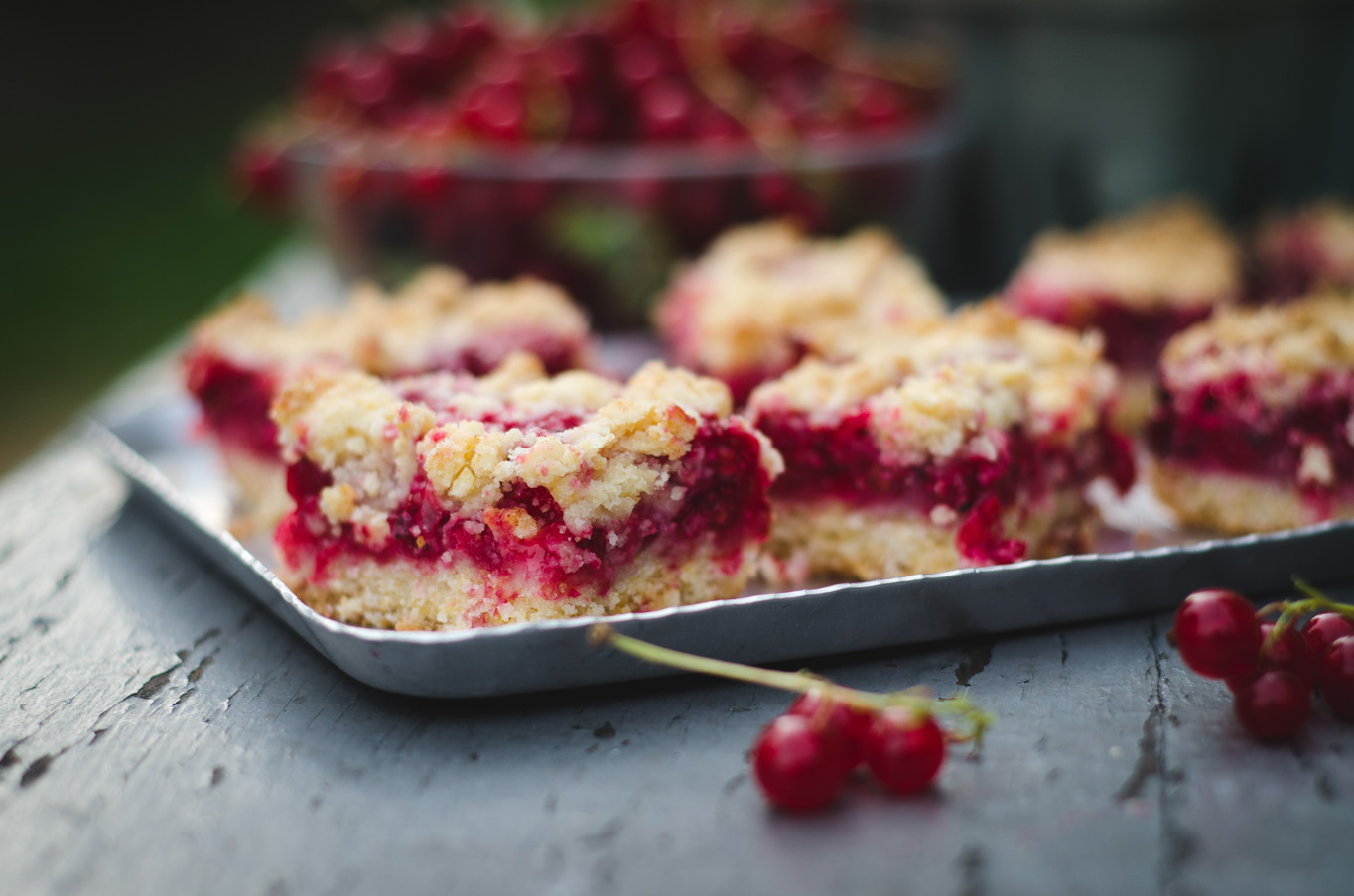 Red Currant Bars