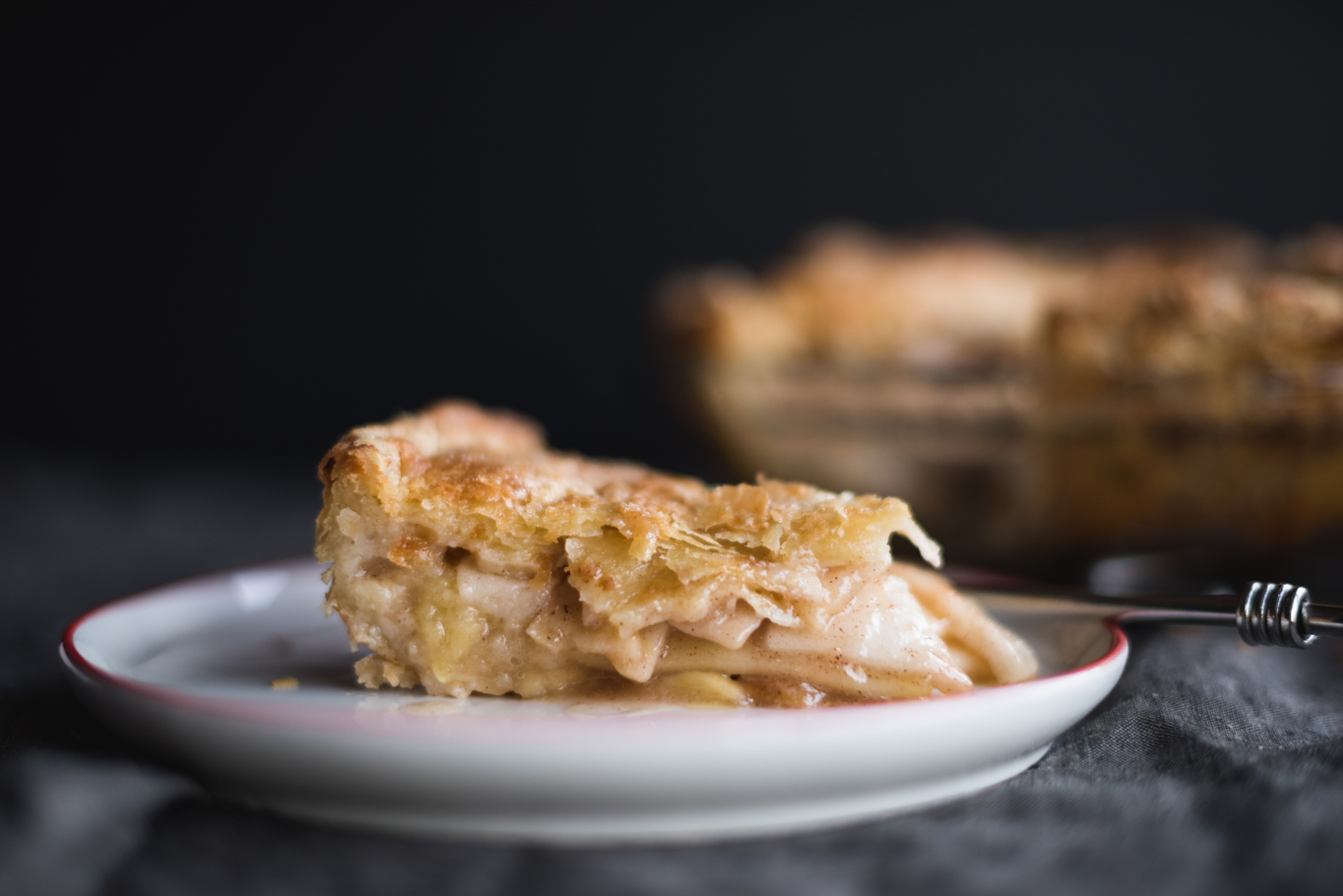 Almond Apple Pie